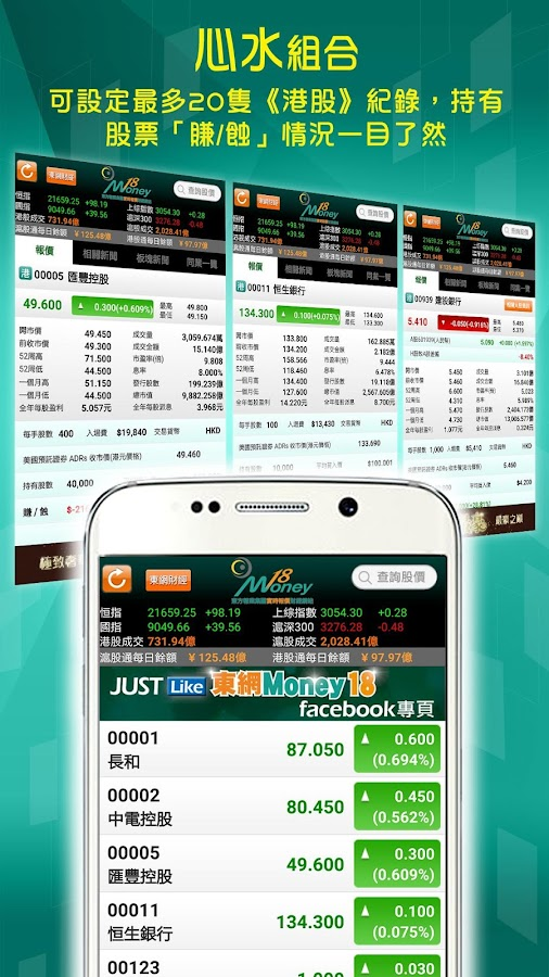Money18 Real-time Stock Quote- screenshot