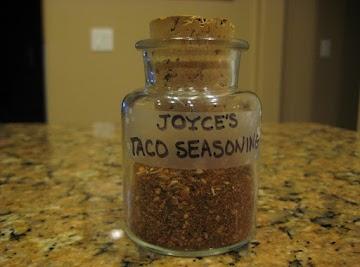 Taco Seasoning Recipe