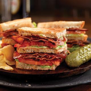 Classic BLT Sandwich.