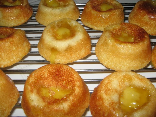 Bake in  the oven for 25-30 minutes or until the tops are golden...
