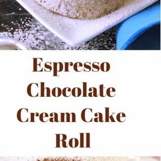Espresso Chocolate Cream Cake Roll Recipe