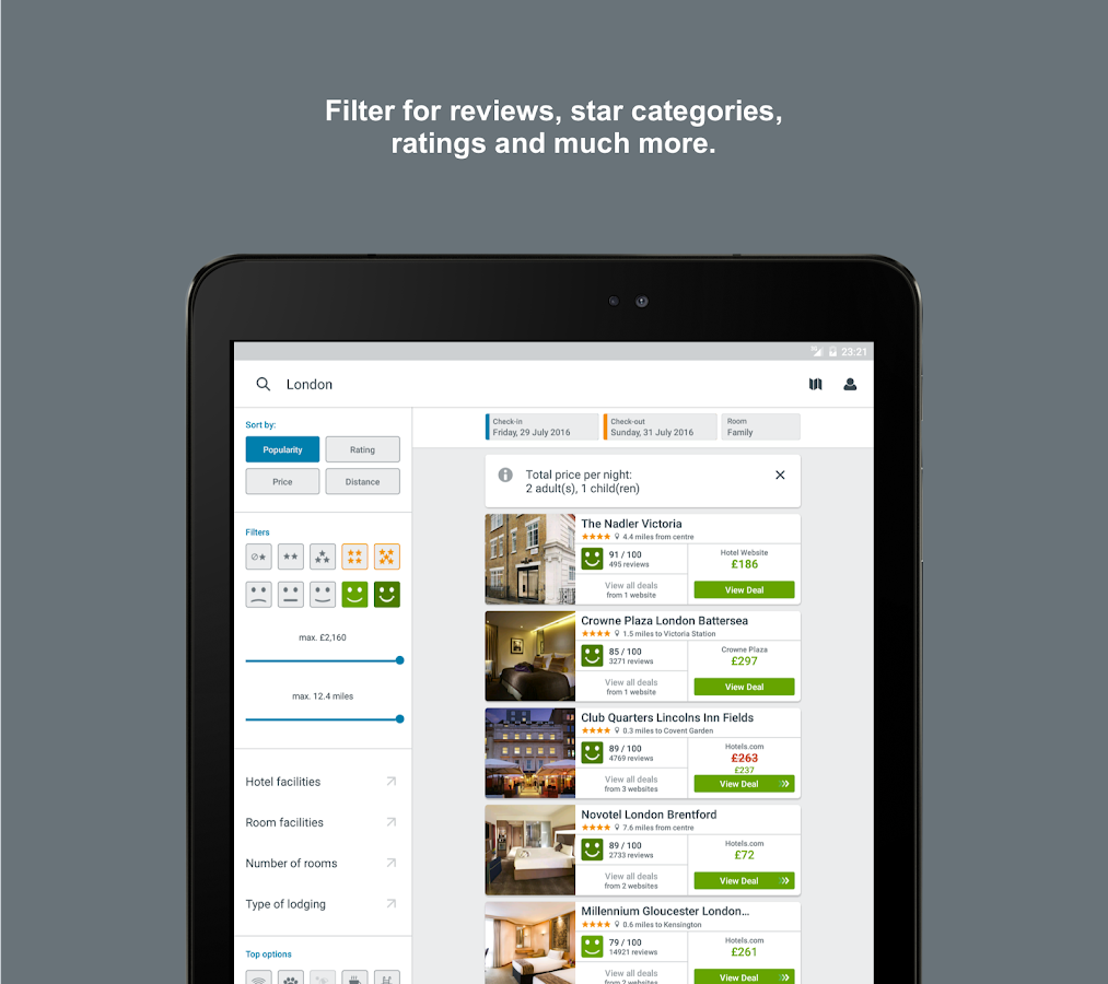 trivago: Hotels & Travel- screenshot