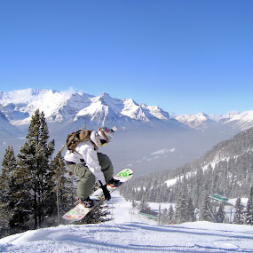 Banff by Andrew Balsillie - Sports & Fitness Snow Sports ( , World, Beauty, Beautiful, Representing, Special, snow, white, quality, detail, landscapes )