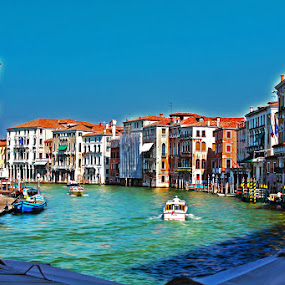 Venice 1 by Lealiza Seiler - Landscapes Travel ( europe, venice, travel, canal, italy )