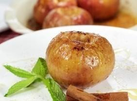 Honey-baked Apples With Creme Fraiche Recipe