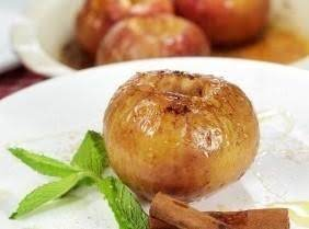 Honey-baked Apples With Creme Fraiche