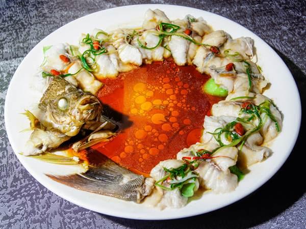 海魚絲瓜蒸