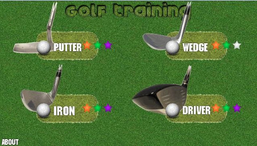 Golf Training Game