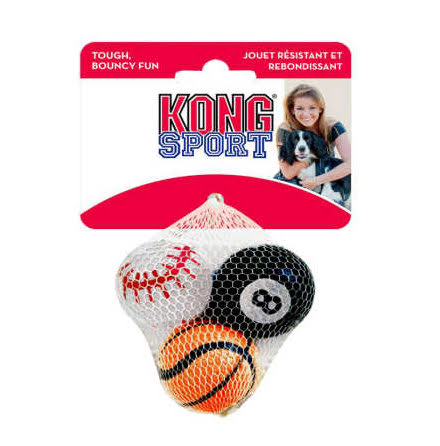 Kong Sportball S 3-pack