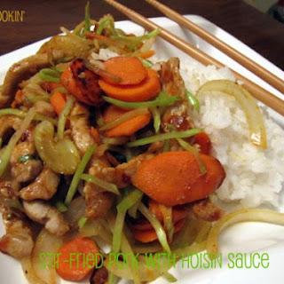 Stir-Fried Pork with Hoisin Sauce Recipe
