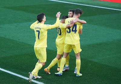 Un gros carton et une place sur le podium de la Liga pour Villarreal