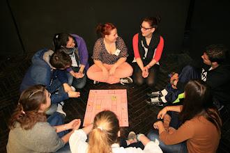 Photo: Sessió de jocs de l'INS Marina