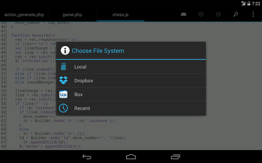 Screenshot for DroidEdit Pro (code editor) in United States Play Store