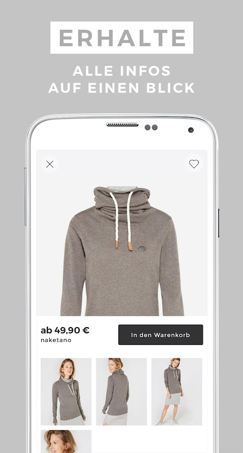 ABOUT YOU Mode Online Shop- screenshot