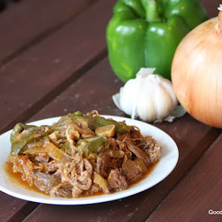 Slow Cooker Ropa Vieja - Cuban Shredded Beef Recipe