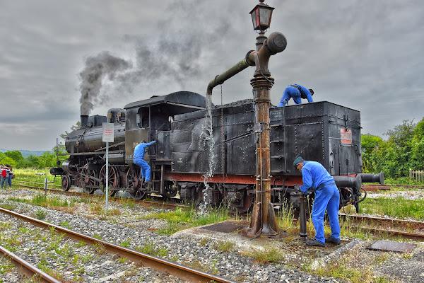 Locomotiva a vapore di MWALTER