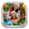 Merry Christmas Card Maker with Photos icon