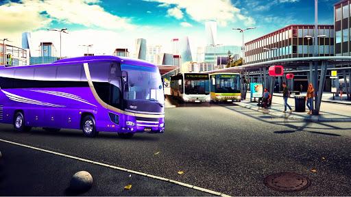 Airport Bus Simulator Heavy Driving City 3D Game 1.4 screenshots 1