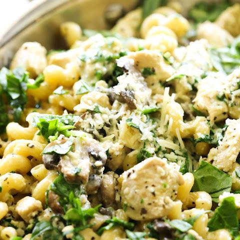 10 Best Chicken Spinach Mushroom Pasta Recipes Yummly
