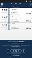 Screenshot of clever-tanken.de