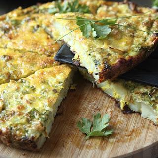 Vegetarian frittata [Recipe]