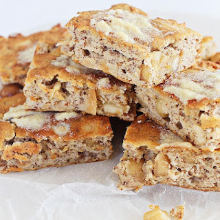 White Chocolate Macadamia Blondie.