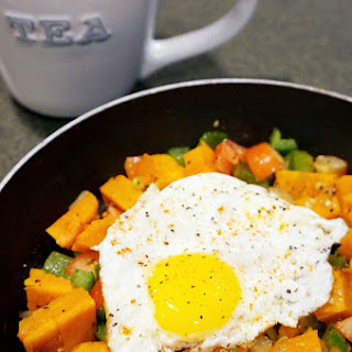 One Person Breakfast Hash