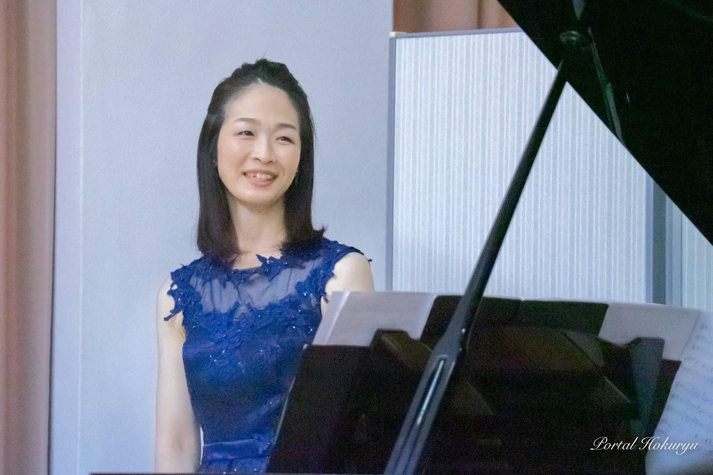 ピアノ・鹿野友代さん