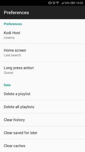 YODI - YouTube controller for KODI 1.1.2 screenshots 4