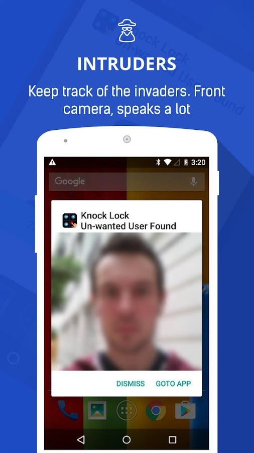 Knock Lock - AppLock Screen- screenshot