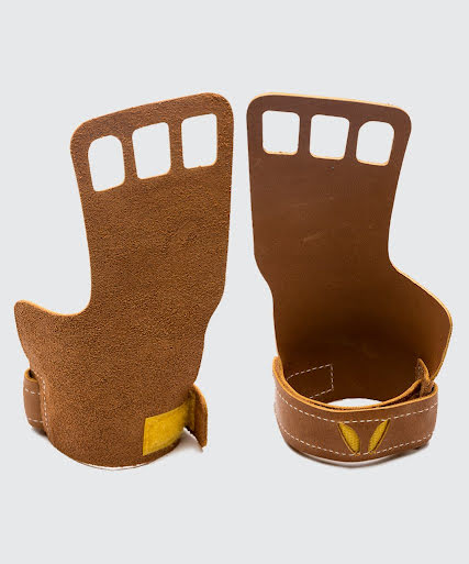 Victory Grips Leather Men - Brown - XL
