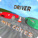 Driver - over cones icon