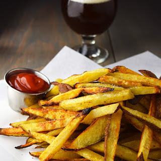 Baked Craft Beer Fries.