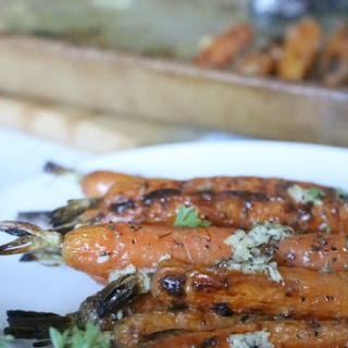 Roasted Carrots with Garlic Recipe