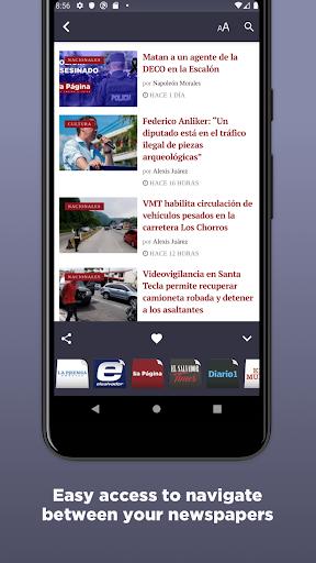 salvadoran newspapers screenshot 3