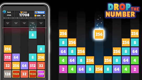 Drop The Number: Merge Game Mod Apk (Unlimited Money + No Ads) 1.6.3 1