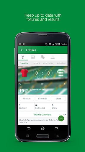 Fan App for Celtic FC