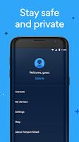 screenshot of Hotspot Shield Free VPN Proxy & Wi-Fi Security