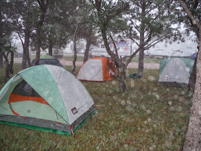 Photo: 20130714 Day 26 Keystone SD to Wall SD 82 miles 5690 ' climbing: We love our tents, even in the rain