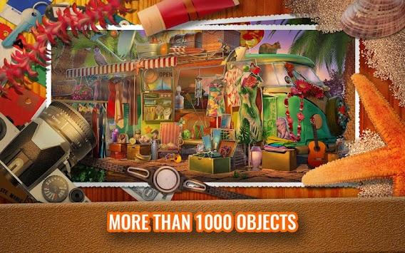 Summer Vacation Hidden Object Game