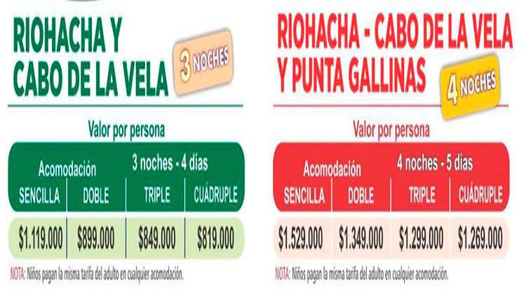 Paquetes Turísticos La Guajira