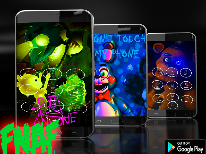 Screenshots of Pattern Lock Screen For Fnaf for iPhone