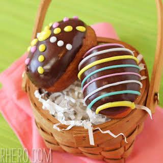 Easter Egg Doughnuts.