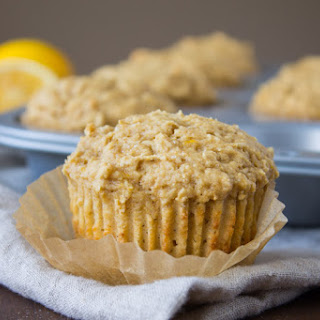 Whole-Wheat Meyer Lemon Ricotta Muffins