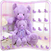 App Lavender Teddy Bear Theme APK for Windows Phone