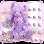 Lavender Teddy Bear Theme Icon