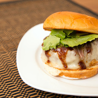Hambāgu Burger (Adapted from Bobby Flay and Just One Cookbook).