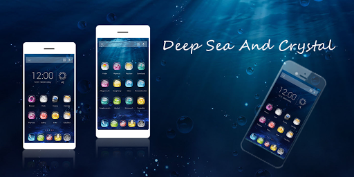 Deep Sea And Crystal Theme