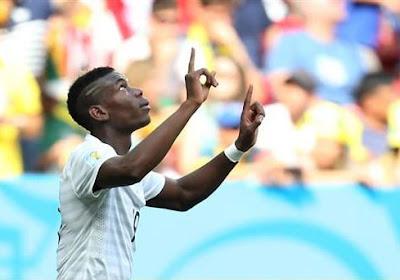 Pogba élu meilleur jeune