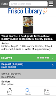 Frisco Public Library- screenshot thumbnail